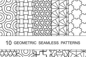 Seamless Geometric Patterns Set 5