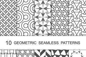 Seamless Geometric Patterns Set 7