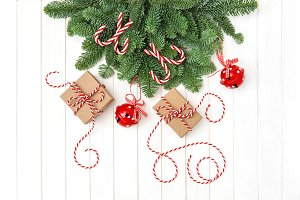 Christmas ornaments gift boxes