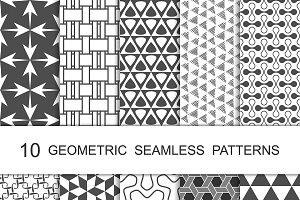 Seamless Geometric Patterns Set 9