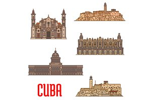 Landmarks of Cuba