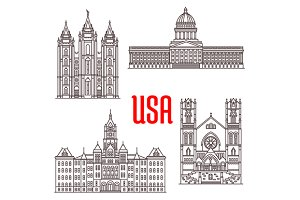 Famous buildings of USA