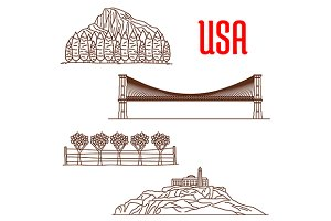 American nature landmarks