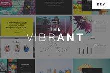The VIBRANT - Keynote Template