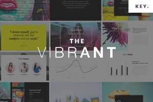 The VIBRANT - Keynote Template