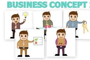 30+ Business Cartoons Concepts 2