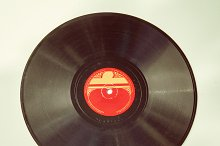 Vintage record of the 1940's