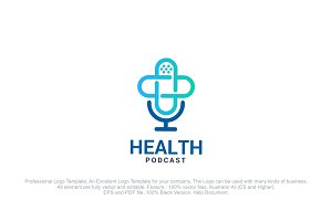 Health Podcast - Health Radio Logo