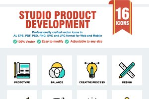 Studio Product Development Cool Icon