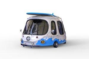 3D surf car