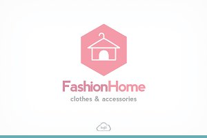 Fashion Home Logo Template