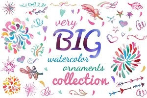 Very Big Watercolor Collection
