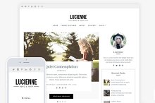 Lucienne / Blog & WooCommerce Theme by  in Commerce