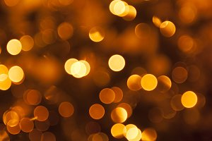 Holiday background of lights