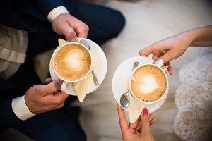 Cappucino cups