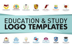 Education and Study Logo Templates