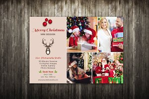 Christmas Mini Session Template-V423