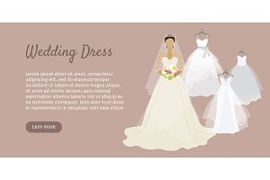 Wedding Dress Web Banner