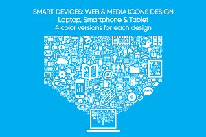 SmartDevices: Web&Media icons design