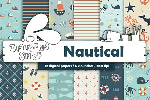 Nautical Paper Pack