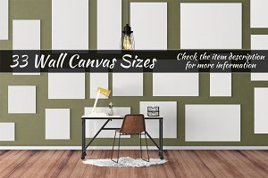 Canvas Mockups Vol 56