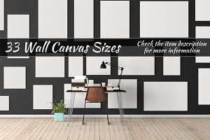 Canvas Mockups Vol 59