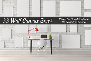 Canvas Mockups Vol 60