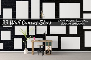 Canvas Mockups Vol 61