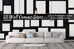 Canvas Mockups Vol 63