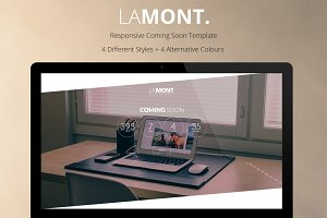 Lamont - Coming Soon Template