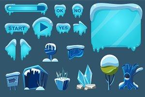 Winter Game User Interface
