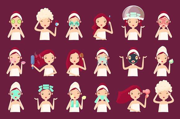 Women in Beauty Saloon