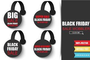 Black Friday Sale Wobbler
