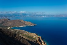 Landscape of Crete, Greece