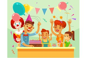 Children happy birthday