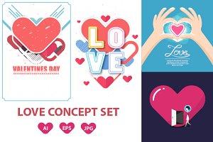 Love Concept Set - 4 Works