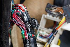 Car automotive wiring