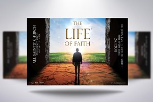 The Life Of Faith Church Flyer