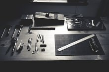Working tools, Workspace for Leather