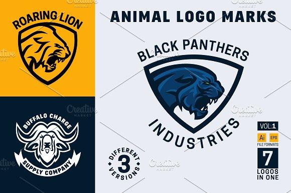 Animal Logo Marks Vol. 1 - Logos