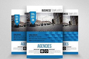 Business Flyer with Free Image