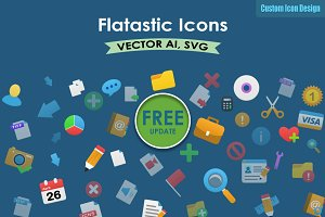 570 Vector Flatastic icons