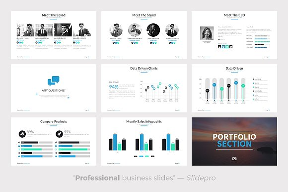 Business Plan Powerpoint Template Presentation Templates - Powerpoint business plan template