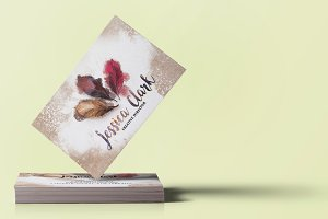 Watercolor Warm Business Card
