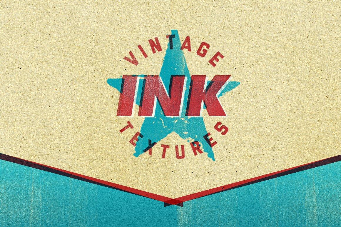 Vintage Letterpress Ink Texture Pack ~ Textures ~ Creative ...