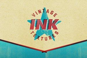 Vintage Letterpress Ink Texture Pack