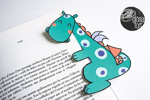 Dragon bookmarker
