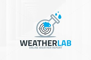 Weather Lab Logo Template