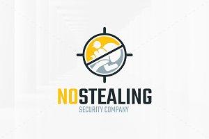 No Stealing Logo Template