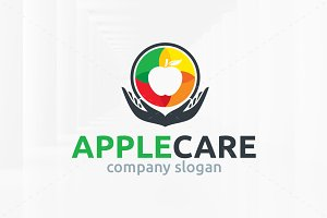 Apple Care Logo Template